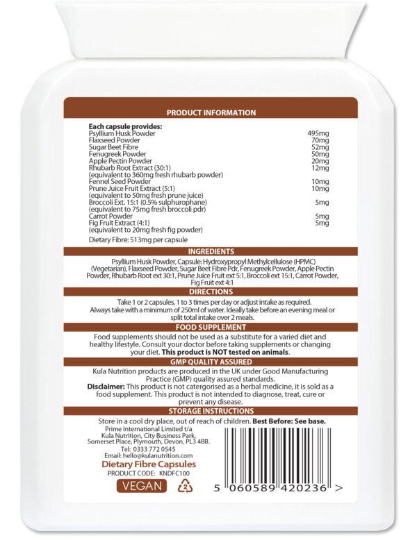 Dietary Fibre 100 Ingredients