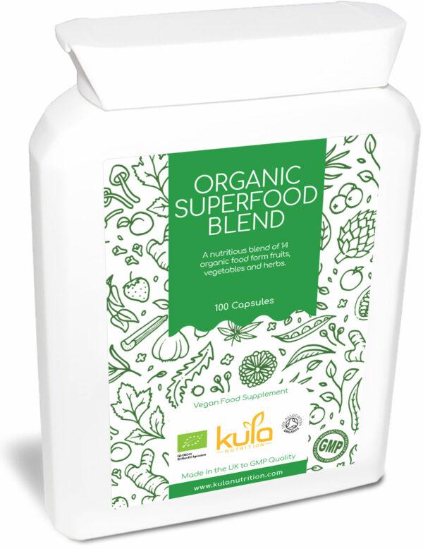 organic greens capsules