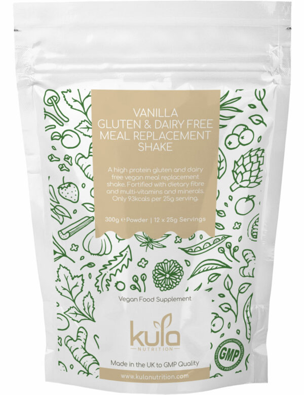 vanilla gluten dairy free meal replacement shake