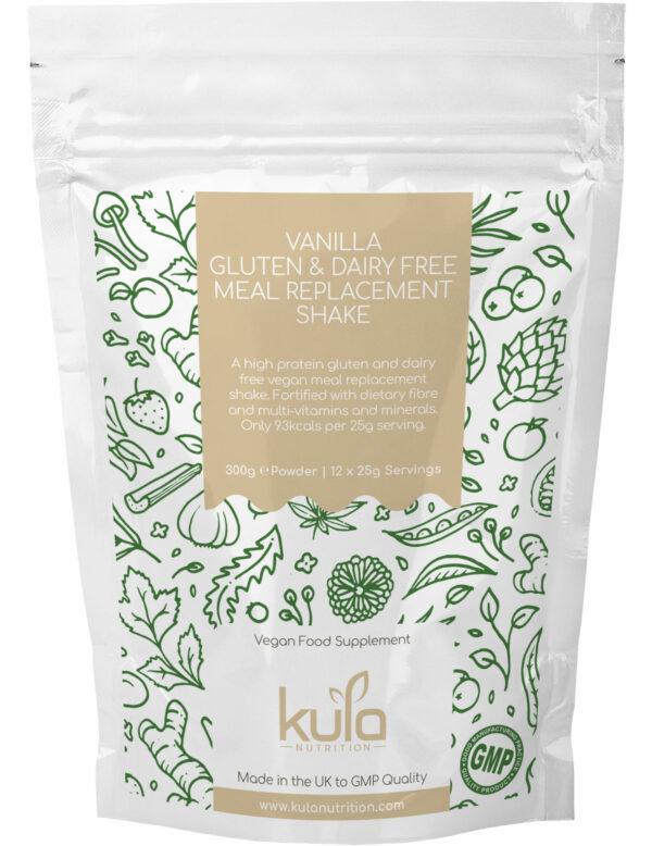 vanilla gluten dairy free meal replacement shake