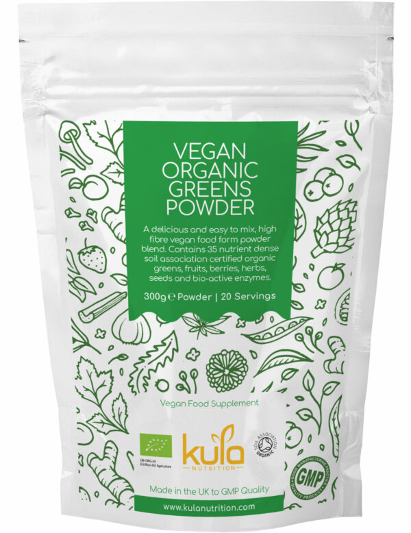 vegan organic greens powder